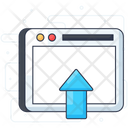 Web Upload Icon