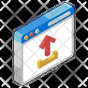 Web Uploading Icon