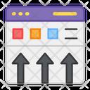 Web Uploading Web Update Web Download Icon