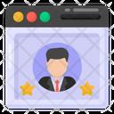 Web Profile Web User Website User Icon