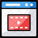 Web Video Icon