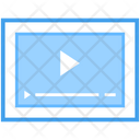 Web Video Internet Video Videography Icon