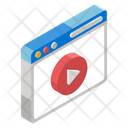 Video Streaming Video Player Multimedia Icon