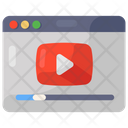 Web Video Online Video Play Video Icon
