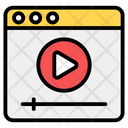 Web Video Online Video Video Website Icon
