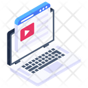 Web Video Video Content Video Streaming Icon