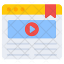Web Video Play Video Video Player Icon