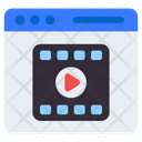 Web Video Web Player Player File Icon