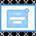Web Video Blog Icon