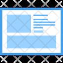 Web Video Blog Web Design Web Layout Icon