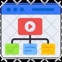 Web Video Network Web Player Player File Icon