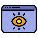 Eyes Care Web Icon