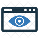 Web Visibility Online Seo Icon