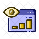 Web Visibility Website Icon