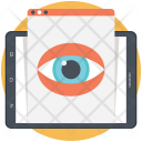 Web Visibility Online Icon