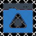 Web Warning Icon