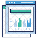Web Window Online Analytics Web Page Icon