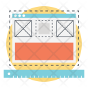 Web wire frame Icon
