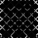Web Wireframe Web Algorithm Sitemap Icon