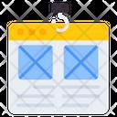 Web Wireframe Web Ul Web Layout Icon