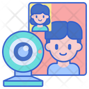 Webcam Videocall Computer Icon