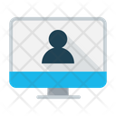Webinar Presentation Video Conference Icon