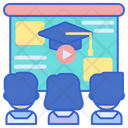 Webinar Video Presentation Video Lesson Icon