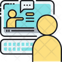 Webinar Lesson Training Icon