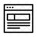Web Page Internet Icon