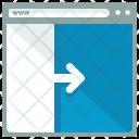 Move Right Webpage Icon