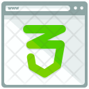 Webpage Security Window Icon