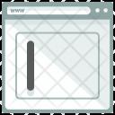 Enter Text Webpage Icon