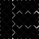 Webpage Layout One Icon