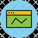 Webpage Graph Web Icon
