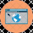 Web Page Website Icon