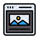 Webpage Browser Design Icon