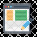 Webpage Design Website Icon