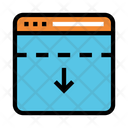 Internet Arrow Online Icon