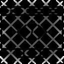 Webpage coding Icon