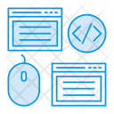 Webpage Coding Programming Icon