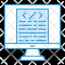 Monitor Screen Display Icon