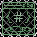Webpage Coding Internet Icon