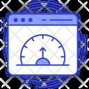Webpage Dashboard Reporting Dashboard Icon