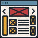 Web Website Design Icon