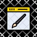 Webpage Design Icon