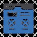 Webpage Design Seo Icon