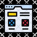 Webpage Design Webpage Design Icon