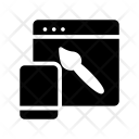 Webpage designing Icon