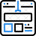 Webpage development Icon
