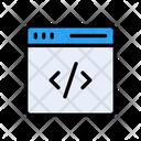Coding Development Programming Icon